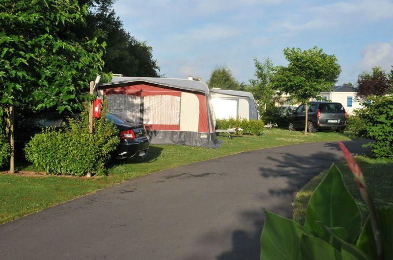 Pitches Campsite France Brittany Atlantic Coast